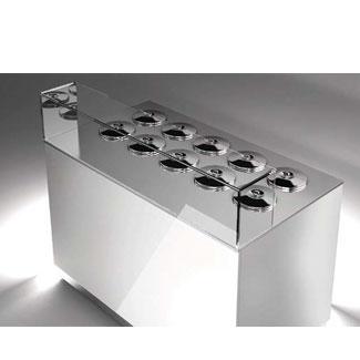 Gelato Display Freezers Italproget Pozzeti